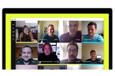 Sneek ofrece una tecnología que toma fotos de los trabajadores a través de la cámara de la notebook y las comparte para que las vean el resto de sus colegas