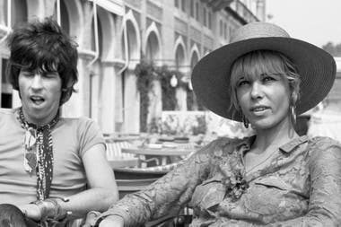 Keith Richards y Anita Pallenberg