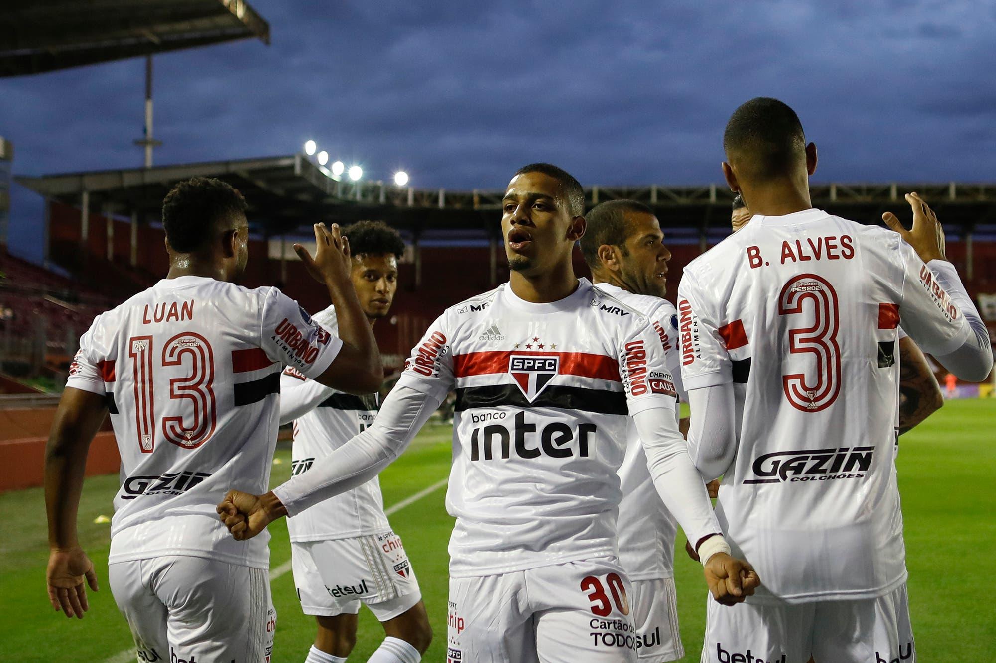 Lanús-San Pablo, por la Copa Sudamericana: el Granate iguala 1 a 1 en la Fortaleza