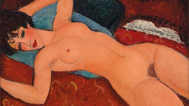 Nu couché, de Amedeo Modigliani