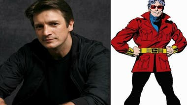 Nathan Fillion llega al universo Marvel para interpretar a Wonder Man