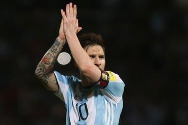 Messi, la gran esperanza de la Argentina
