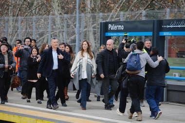 Lnea San Martn inauguraron el viaducto que elimina 11 barreras