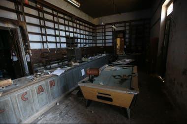 La pulpería abandonada del pueblo