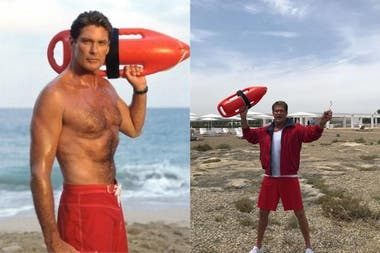 Mitch Buchannan era interpretado por David Hasselhoff