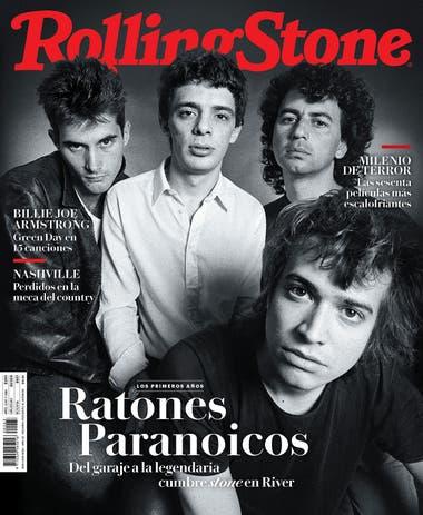 La tapa de la edición de febrero de Rolling Stone
