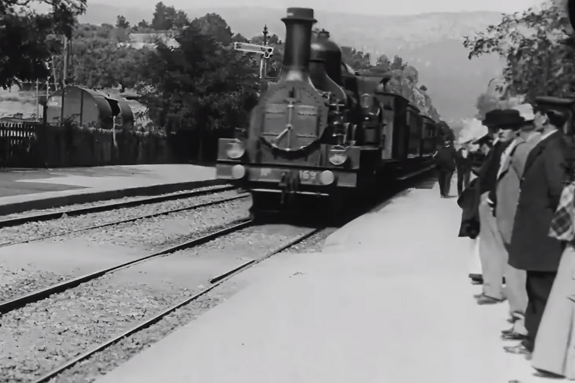 En 4K: así se ve el nuevo video de la llegada del tren a la estación de Ciotat de los hermanos Lumière