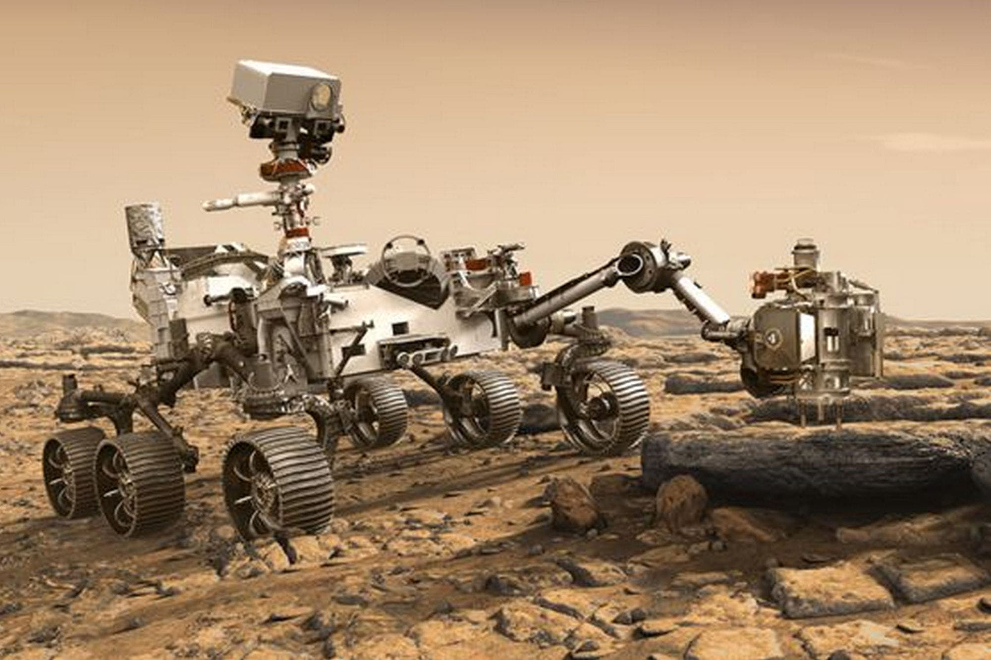 Mars 2020, el vehículo explorador de la NASA que intentará responder las preguntas más inquietantes sobre Marte