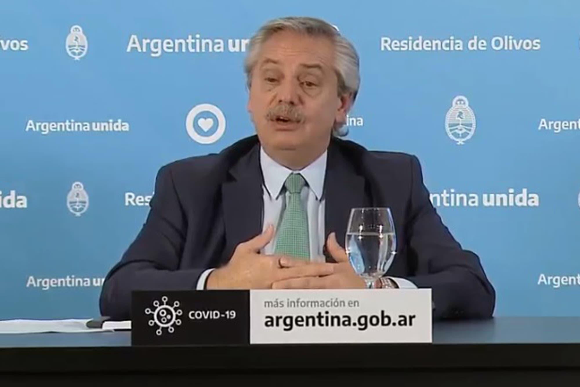 ¿A qué hora habla Alberto Fernández hoy para anunciar la extensión de la cuarentena?