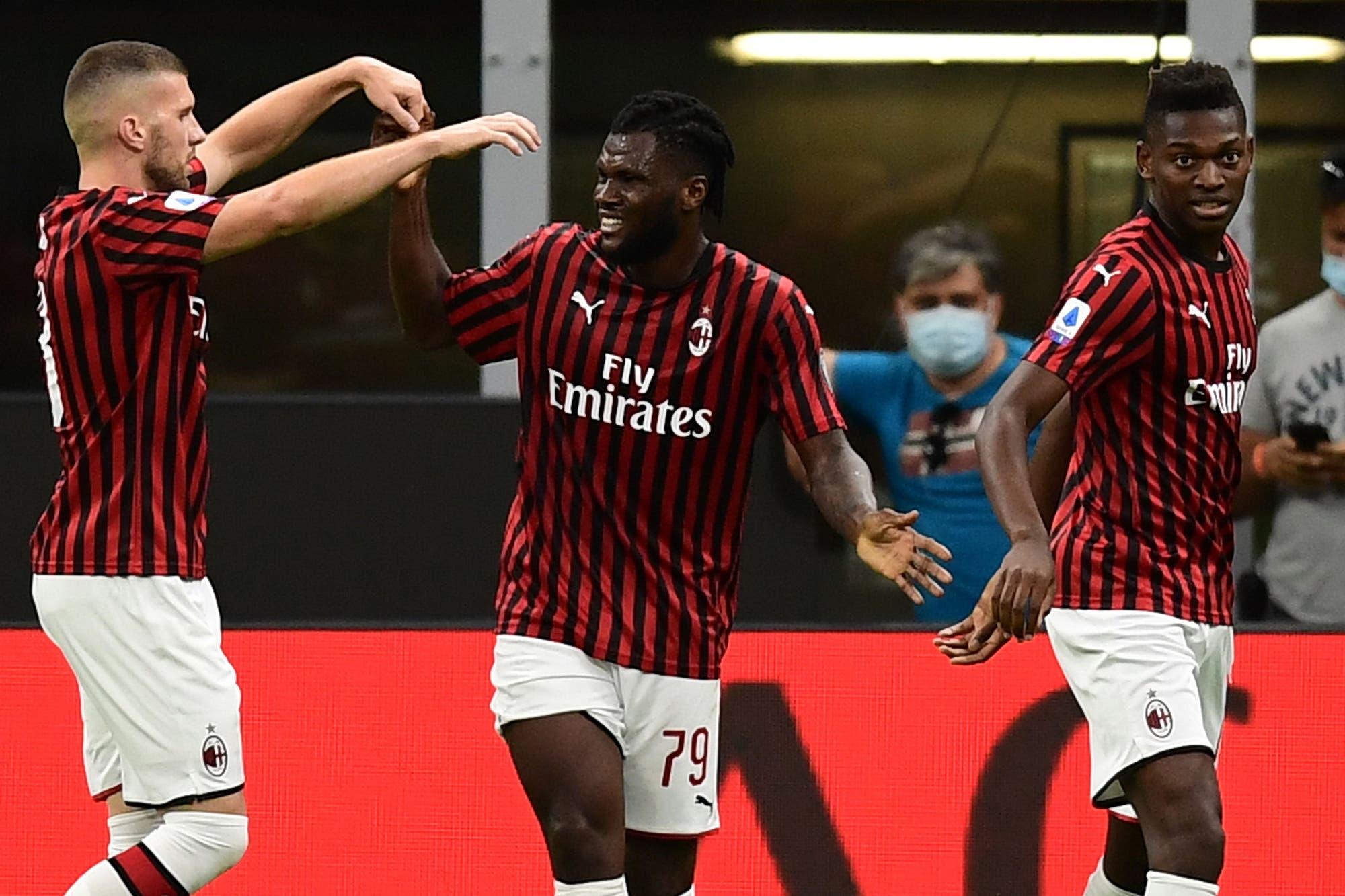 Milan-Juventus, por la Serie A de Italia: un partidazo con seis goles y caída sorpresiva de la 'Vecchia Signora'