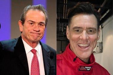 Tommy Lee Jones y Jim Carrey, también rivales