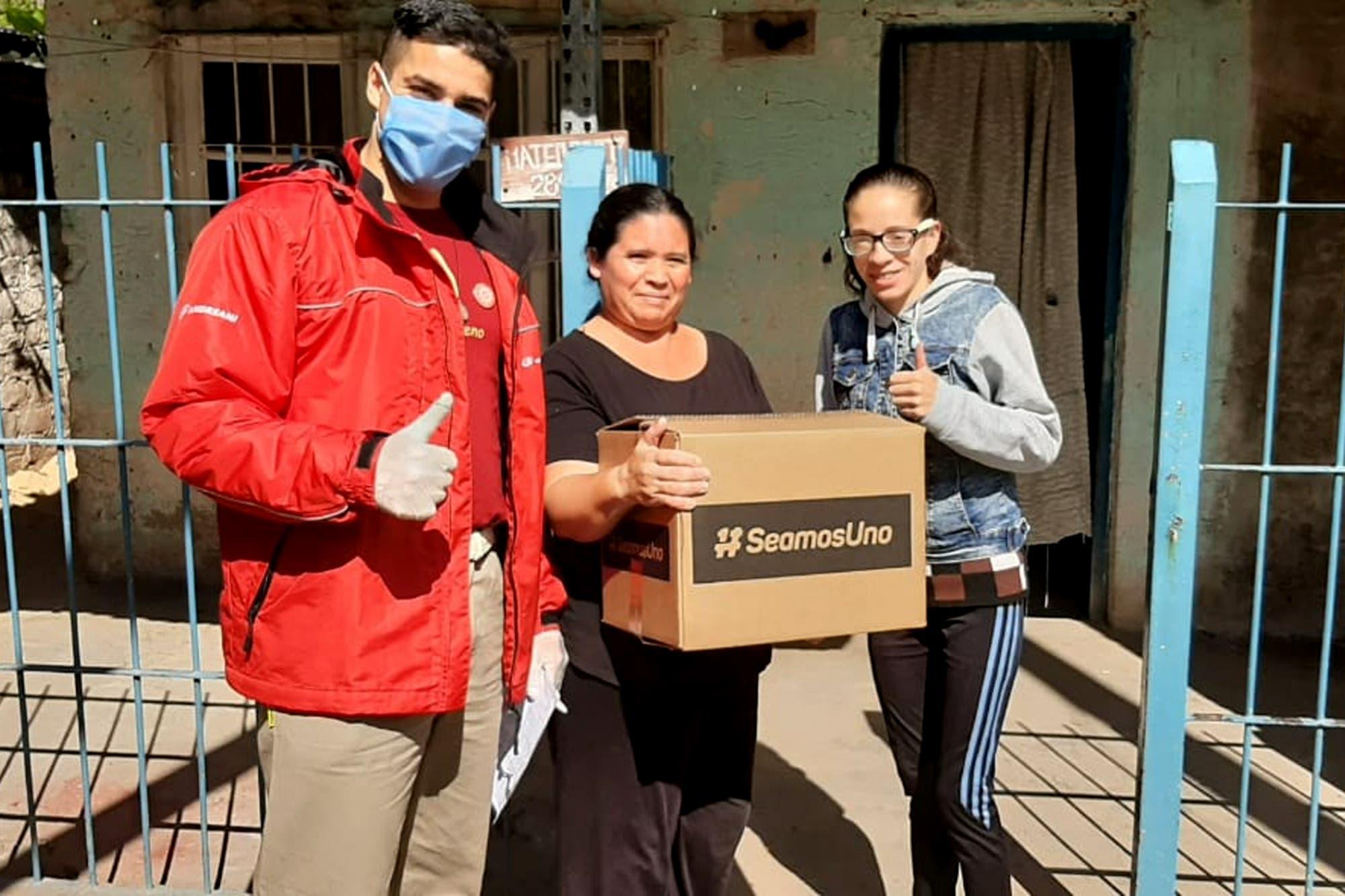 La colecta Seamos Uno llegó al millón de cajas de alimentos