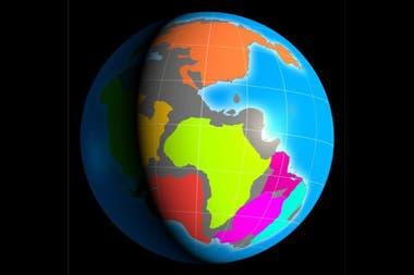 Hace unos 260 millones de años los continentes del planeta comenzaron a separarse.