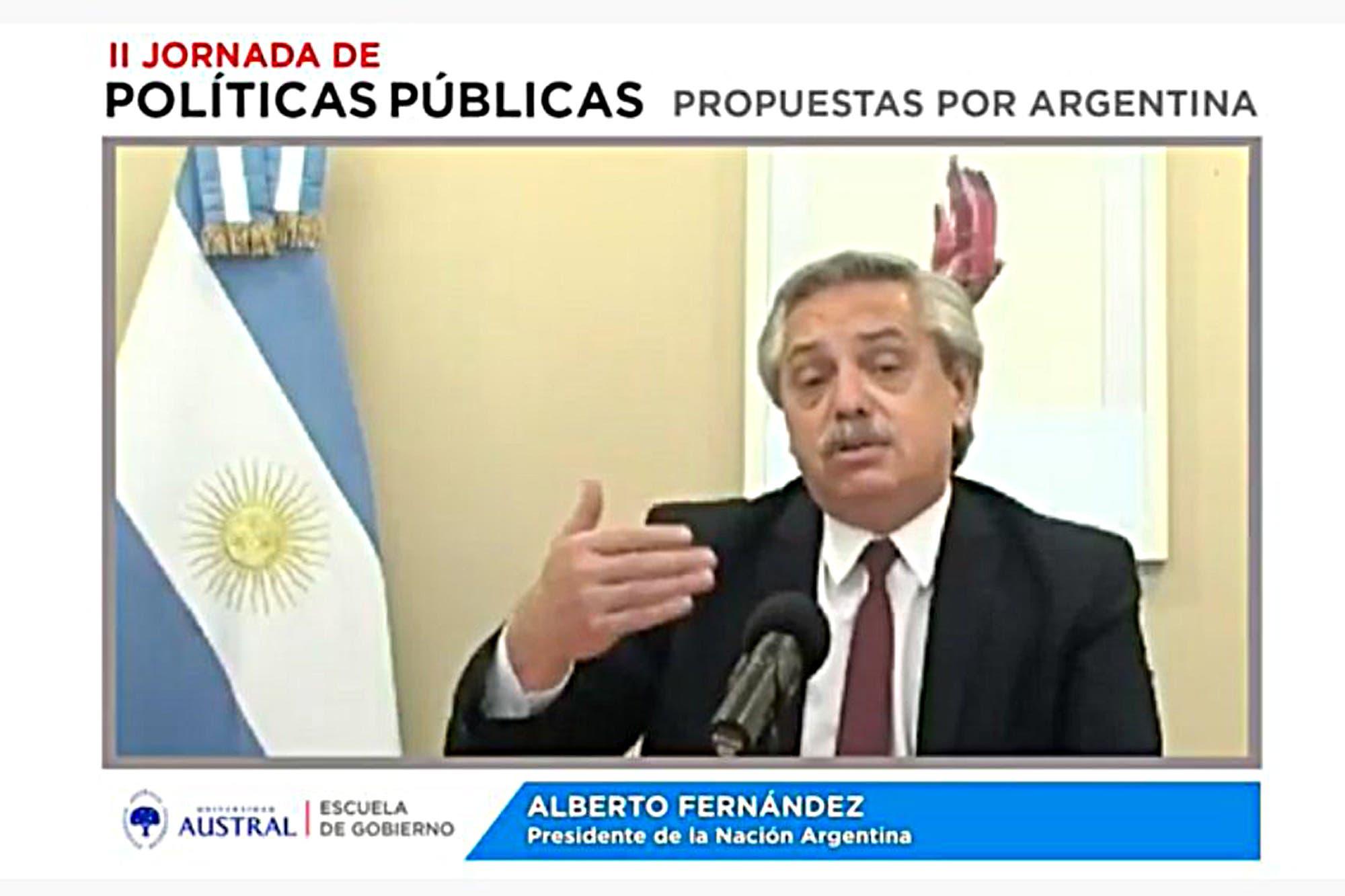 """""""Yo no he roto ningún puente"""", dijo Alberto Fernández, tras ser cuestionado por Horacio Rodríguez Larreta"""