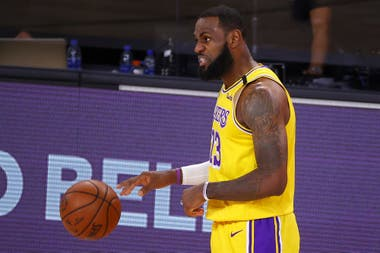 Los Angeles Lakers-Miami Heat: la sangre en el ojo y el recuerdo de 2011 mantienen en estado de alerta a LeBron James en la final de la NBA