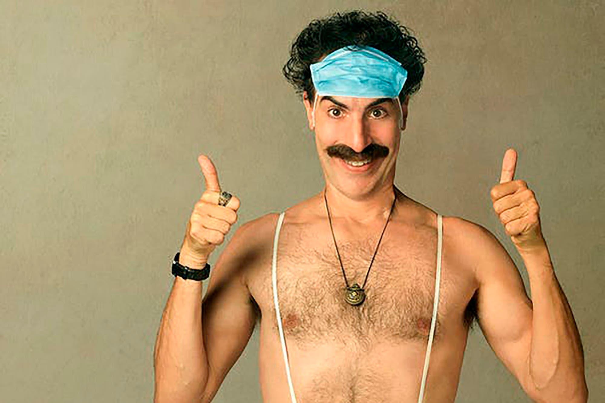Streaming: Borat no corre riesgos a la hora de burlarse de los norteamericanos con su humor cloacal