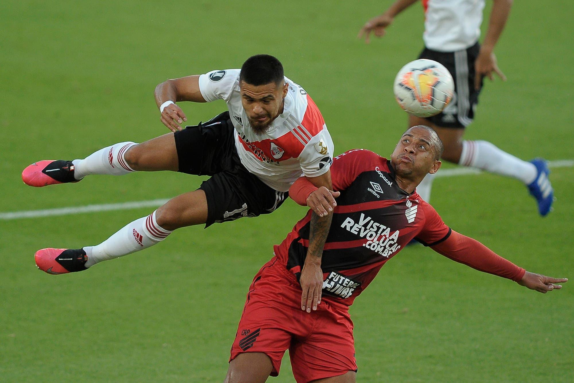 River-Paranaense, por el partido de vuelta de los octavos de final de la Copa Libertadores: el equipo de Marcelo Gallardo iguala sin goles y se acerca a cuartos de final