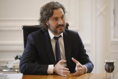 Santiago Cafiero entrevista.