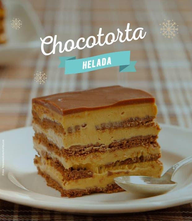 Receta de Chocotorta helada
