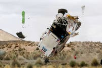 La secuencia de fotos y el video del tremendo accidente del Pato Silva en el Rally Dakar 2015