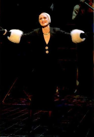 Glenn Close, en la versión original de Sunset Boulevard