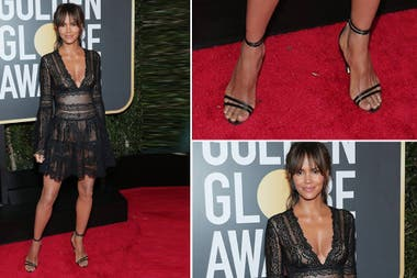 Halle Berry, de corto y transparencias en esta red carpet