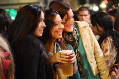 El rito se convirtió en un problema cuando los chicos comenzaron a consumir alcohol