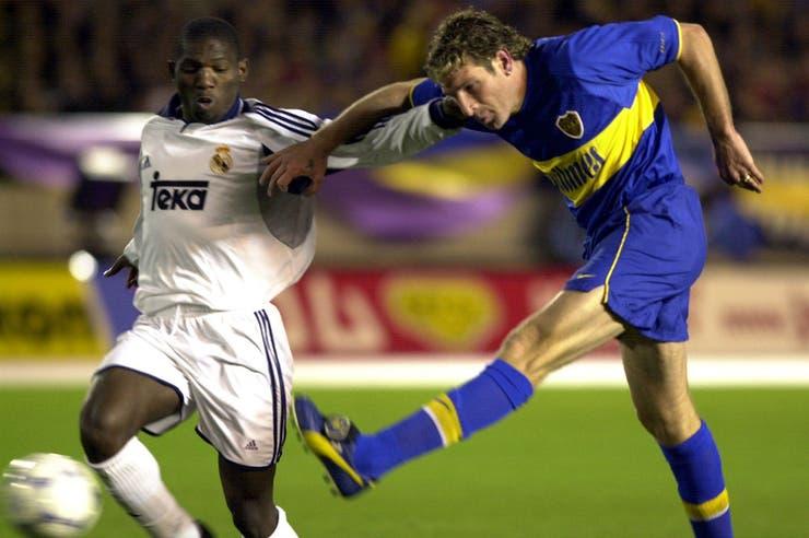 Boca, el último campeón argentino. Le ganó la Copa Europeo-Sudamericana a Real Madrid, en 2000, y a Milan, en 2003.
