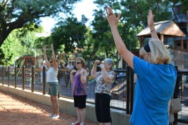 Talleres sobre primeros auxilios forman parte de la capacitación en parques y plazas que quieren los porteños
