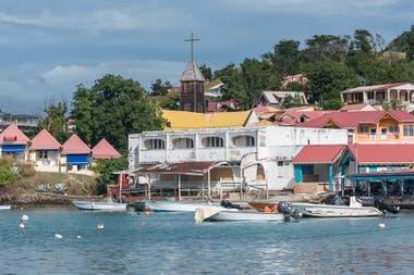 Les Saintes fue ocupada por colonos franceses en el siglo XVII