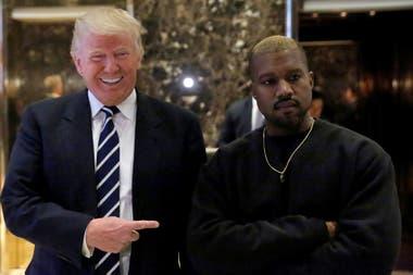 Kanye West apoya a Trump desde la campaña presidencial