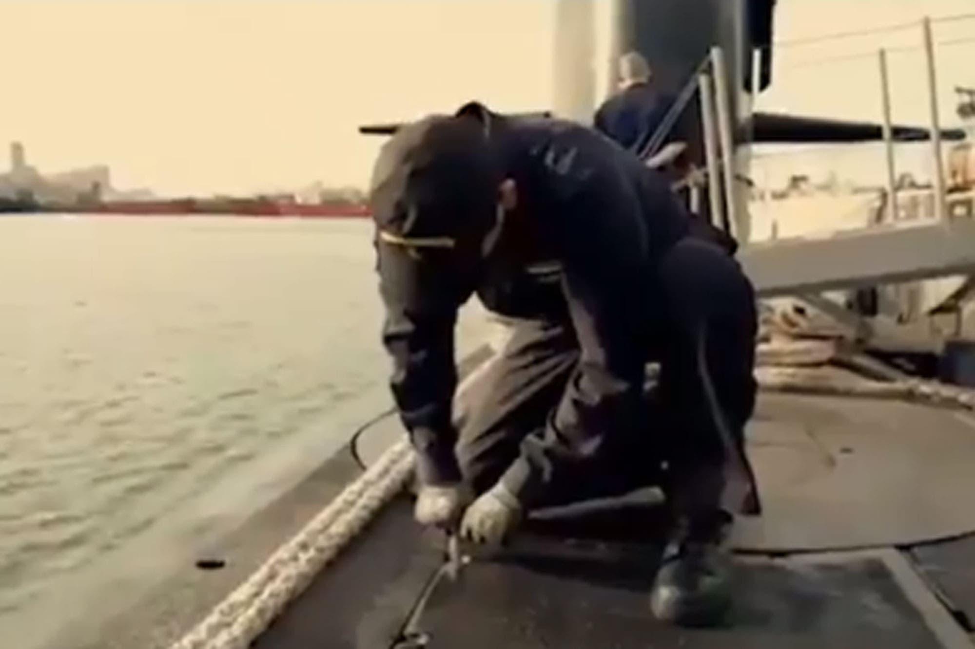 """El emotivo video de la Policía Federal en homenaje a los """"44 héroes"""" del ARA San Juan"""