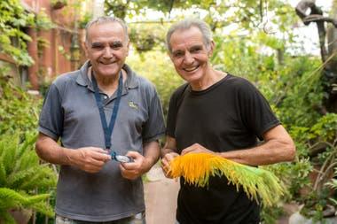Marcelo y Miguel Borghi, hermanos carnavaleros