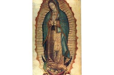 La imagen original Virgen de Guadalupe. (Dominio público)