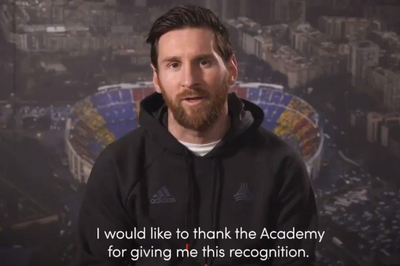 """Lionel Messi ganó el Premio Laureus: es el primer argentino en ser reconocido con """"el Oscar del deporte"""""""