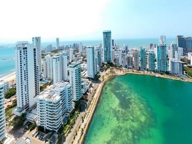 La bahía de Cartagena en tiempos de coronavirus