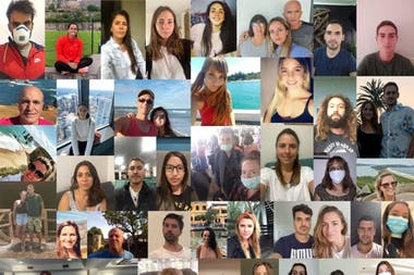 Argentinos que estuvieron varados en Australia