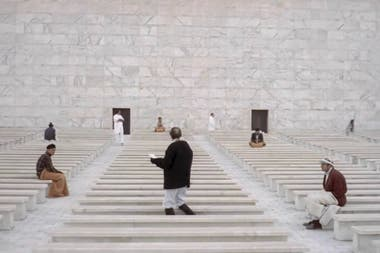 Las escenas filmadas en el E.U.R. como emblema de la arquitectura fascista