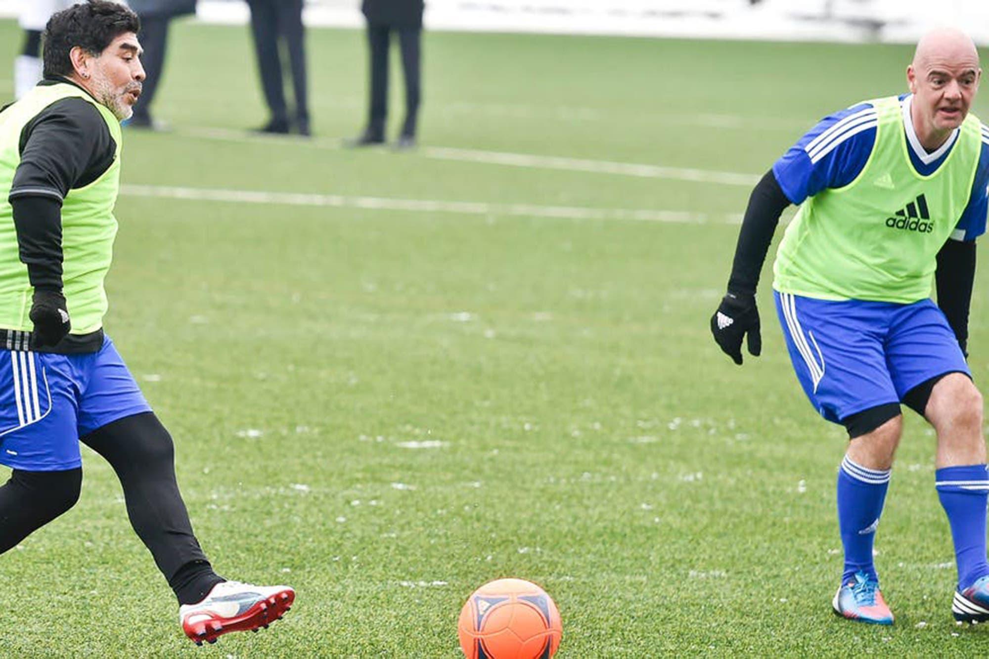 """""""Un Bayern Munich-Boca"""": Infantino no quiere el quiebre de Europa, sino un Mundial de Clubes ampliado"""