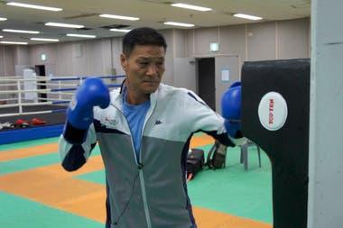 Park Hi-sun hoy, como conductor del equipo de boxeo de Corea del Sur para los Juegos
