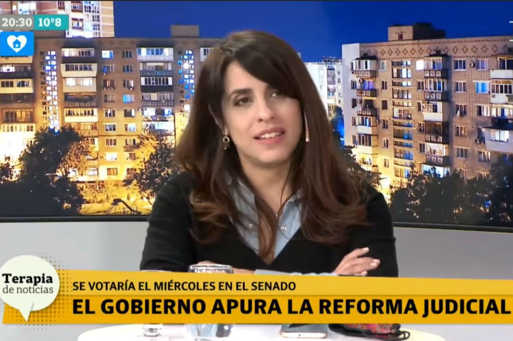 """Reforma judicial: Victoria Donda dijo que no se relaciona con """"las causas de Cristina"""""""