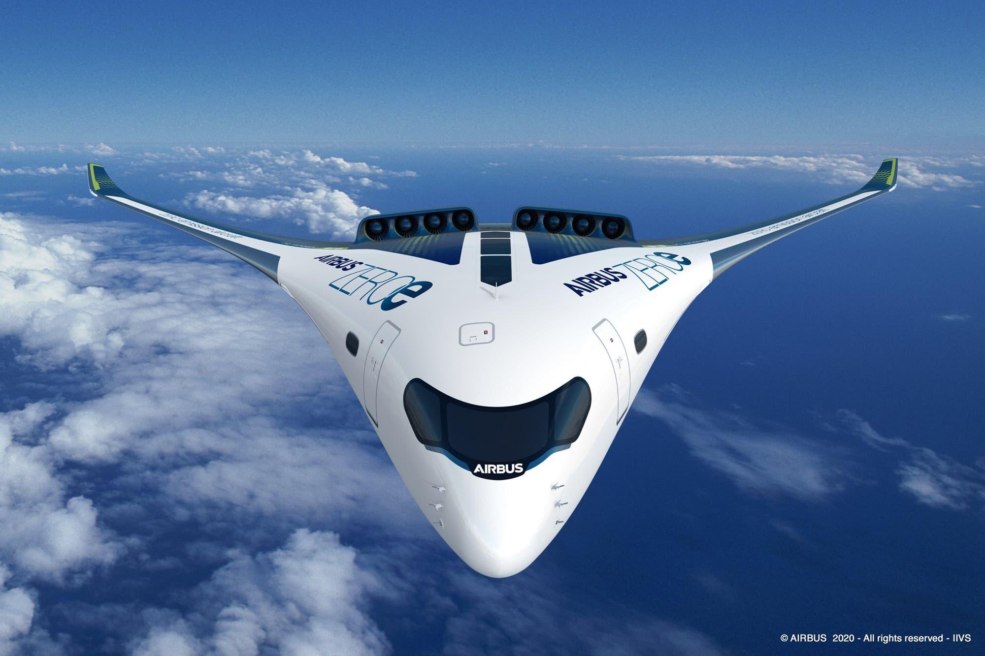 Airbus podría tener aviones de pasajeros con motores de hidrógeno para 2035