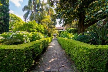 Los jardines del Museo de Arte Español Enrique Larreta, un oasis en el corazón de Belgrano