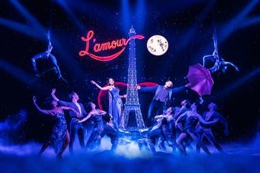 Con 14 nominaciones Moulin Rouge fue el segundo montaje con mayor cantidad de nominaciones para los Tony