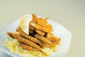 Cornalitos fritos manjar de mar
