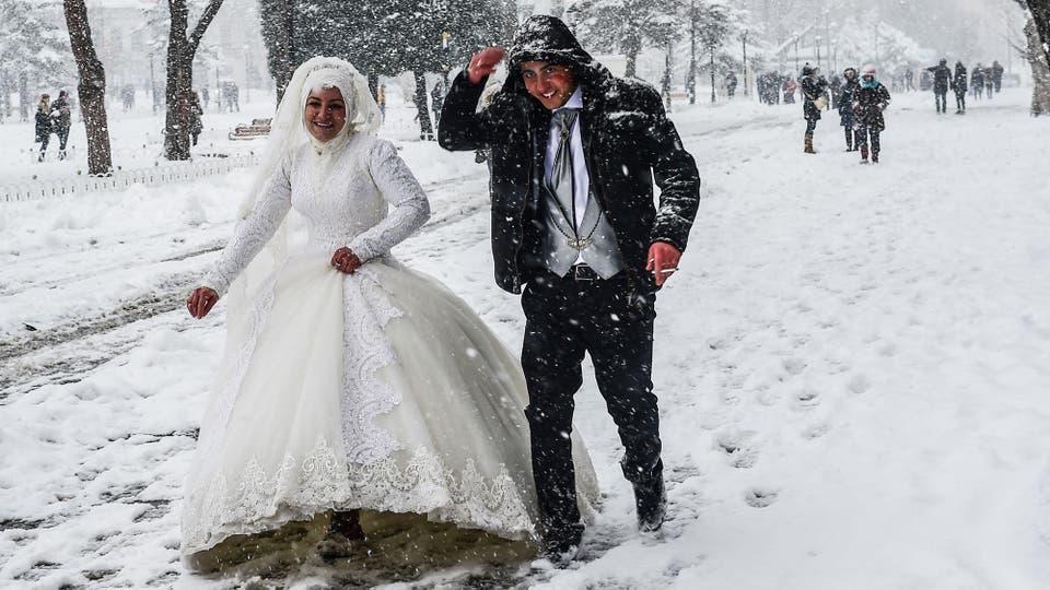 Resultado de imagen para nieve en europa 2017