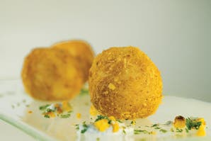 Bollitos de arroz y ternera