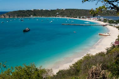 Sandy Ground Beach, Anguilla.