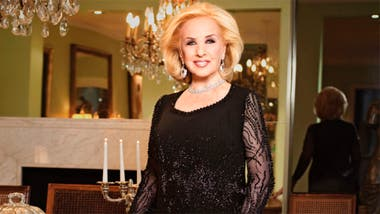 Mirtha Legrand promete y... cumple
