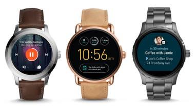 Fossil presenta su línea de smartwatch Q en la Argentina